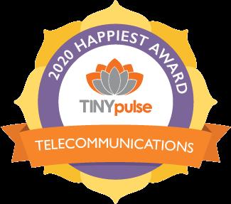 2020 Happiest Award - Telecommunications
